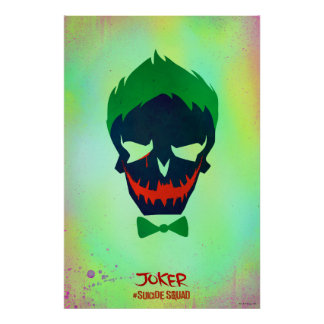 Suicide Squad | Joker Head Icon Poster