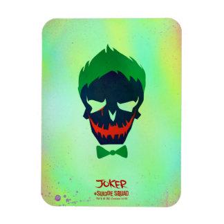 Suicide Squad   Joker Head Icon Rectangular Photo Magnet