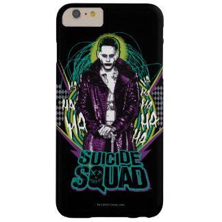 Suicide Squad | Joker Retro Rock Graphic Barely There iPhone 6 Plus Case