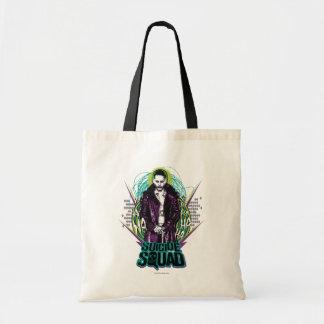 Suicide Squad | Joker Retro Rock Graphic Budget Tote Bag