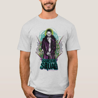 Suicide Squad | Joker Retro Rock Graphic T-Shirt