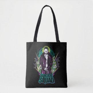 Suicide Squad | Joker Retro Rock Graphic Tote Bag