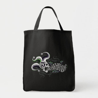 Suicide Squad | Joker Skull - Haha Grocery Tote Bag
