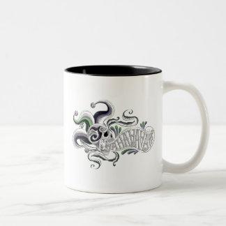 Suicide Squad   Joker Skull - Haha Two-Tone Coffee Mug