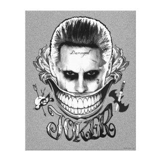 Suicide Squad | Joker Smile Canvas Print