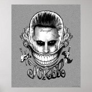 Suicide Squad | Joker Smile Poster