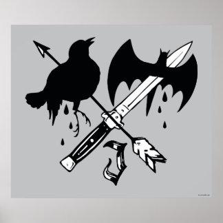 Suicide Squad | Joker Symbol Poster