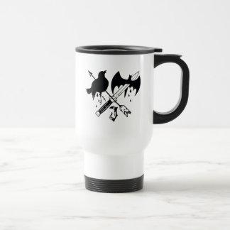 Suicide Squad   Joker Symbol Travel Mug