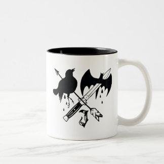 Suicide Squad   Joker Symbol Two-Tone Coffee Mug