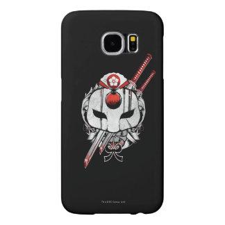 Suicide Squad | Katana Mask & Swords Tattoo Art Samsung Galaxy S6 Cases