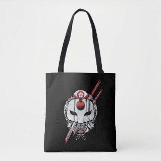 Suicide Squad   Katana Mask & Swords Tattoo Art Tote Bag