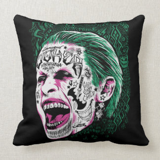 Suicide Squad | Laughing Joker Head Sketch Cushion