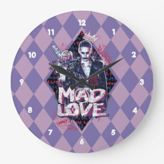 Suicide Squad | Mad Love Large Clock