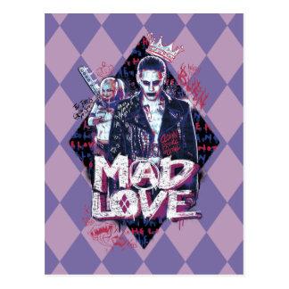 Suicide Squad   Mad Love Postcard