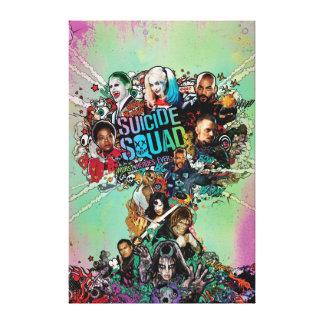 Suicide Squad | Mushroom Cloud Explosion Canvas Print