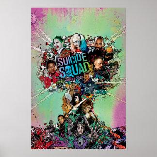 Suicide Squad | Mushroom Cloud Explosion Poster