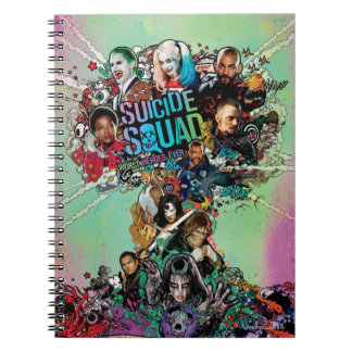 Suicide Squad | Mushroom Cloud Explosion Spiral Note Books