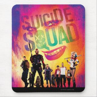 Suicide Squad | Orange Joker & Squad Movie Poster Mouse Pad