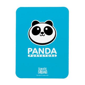 Suicide Squad   Panda Purveyors Logo Rectangular Photo Magnet
