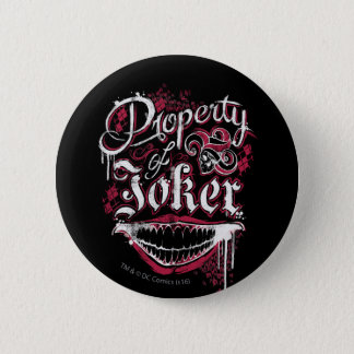 Suicide Squad | Property of Joker 6 Cm Round Badge