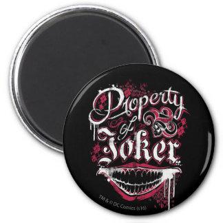 Suicide Squad   Property of Joker 6 Cm Round Magnet