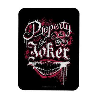 Suicide Squad   Property of Joker Rectangular Photo Magnet
