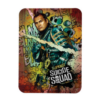 Suicide Squad | Slipknot Character Graffiti Rectangular Photo Magnet
