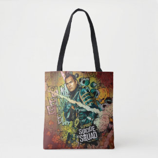 Suicide Squad | Slipknot Character Graffiti Tote Bag