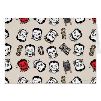 Suicide Squad | Slipknot Emoji Pattern Card