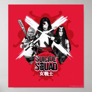 "Suicide Squad | Squad Girls ""Female Warrior"" Poster"