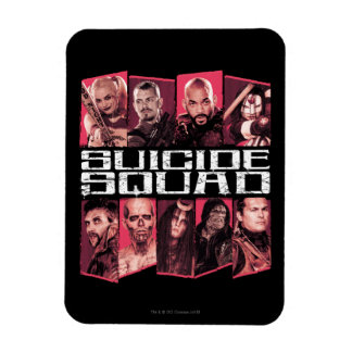 Suicide Squad   Task Force X Group Emblem Rectangular Photo Magnet