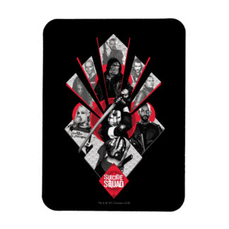 Suicide Squad | Task Force X Japanese Graphic Rectangular Photo Magnet