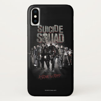 Suicide Squad  Task Force X Lineup iPhone X Case