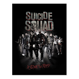 Suicide Squad |Task Force X Lineup Postcard