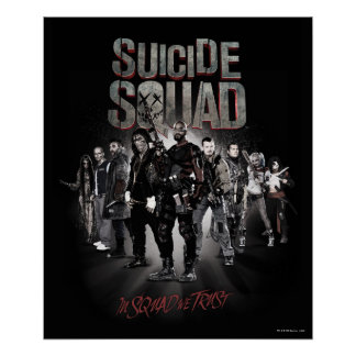 Suicide Squad  Task Force X Lineup Poster