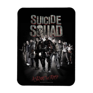 Suicide Squad |Task Force X Lineup Rectangular Photo Magnet