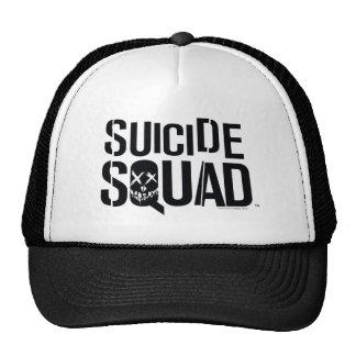 Suicide Squad   White Logo Cap