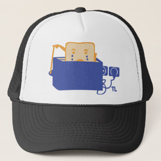 suicide toast icon trucker hat