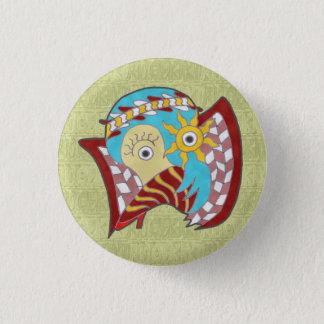 SUISUI (gourd l ver) 3 Cm Round Badge