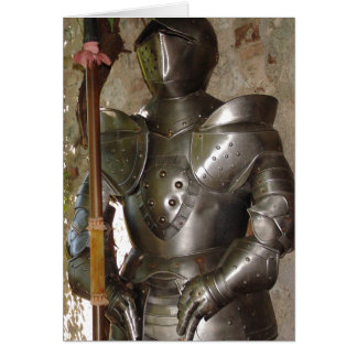 Suit of Armor Cards