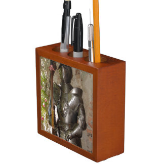 Suit of Armor Pencil Holder