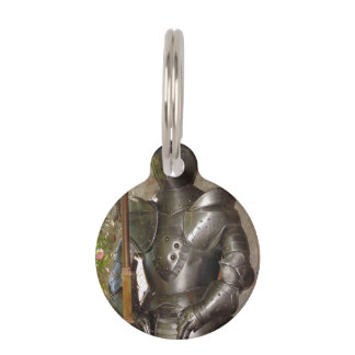 Suit of Armor Pet ID Tag