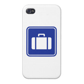 Suitcase icon cover for iPhone 4