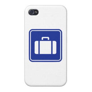 Suitcase icon iPhone 4 case