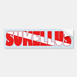 Sukellus (Finnish) Bumper Sticker