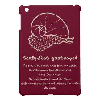 < sukerihutsuto (beige) > Scaly-foot gastropod iPad Mini Covers