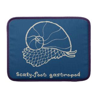 < sukerihutsuto (beige) > Scaly-foot gastropod MacBook Sleeve
