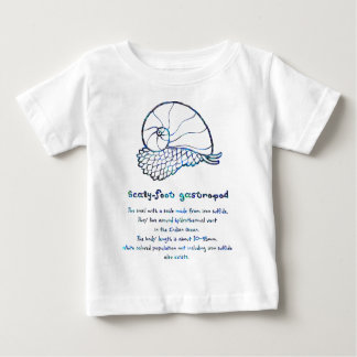< sukerihutsuto (mother-of-pearl wind - blue > baby T-Shirt