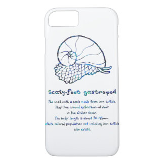 < sukerihutsuto (mother-of-pearl wind - blue > iPhone 8/7 case