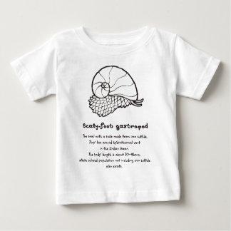 < sukerihutsuto (to burn, brown) > Scaly-foot Baby T-Shirt